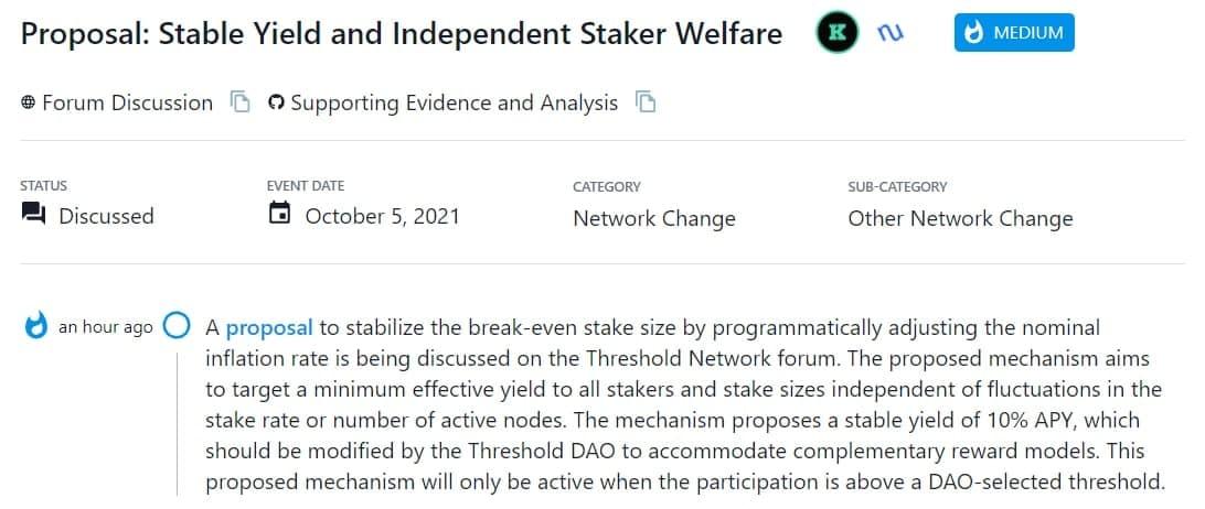 Đề xuất ổn định quy mô break-even stake bằng cách điều chỉnh tỷ lệ lạm phát danh nghĩa