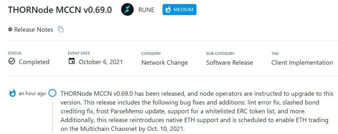 THORNode MCCN v0.69.0 đã ra mắt