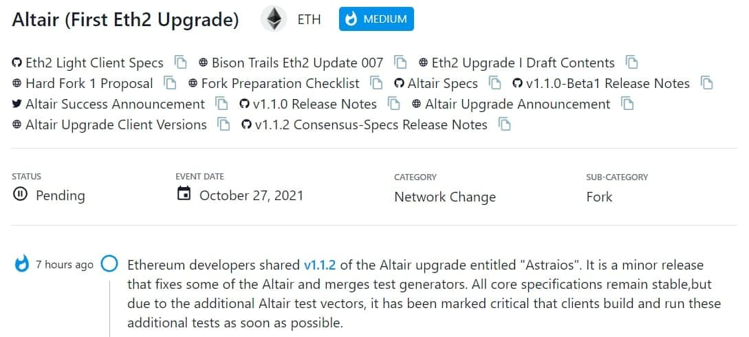 """Nâng cấp v1.1.2 của Altair có tên """"Astraios"""""""
