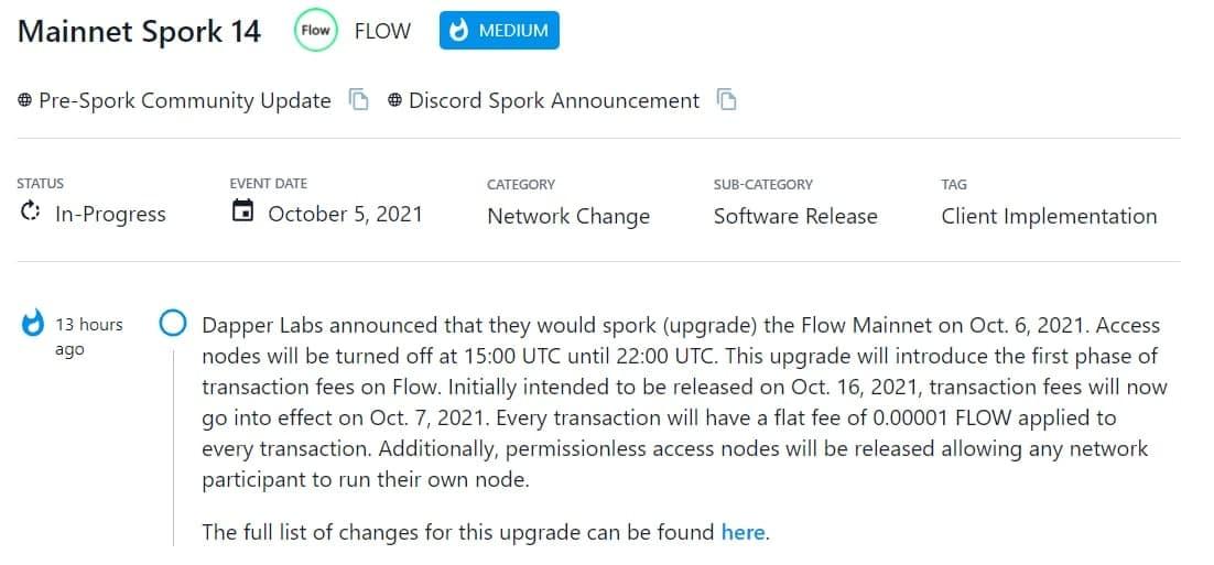 Dapper Labs sẽ mở rộng (nâng cấp) Flow Mainnet vào 06/10/2021