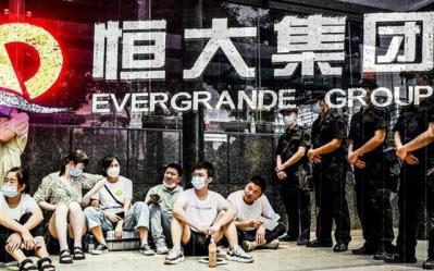 Đế chế bất động sản Evergrande lung lay trước đòn giáng từ Trung Quốc