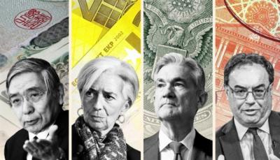 Nhiều ngân hàng trung ương trên thế giới e dè trước đà tăng của lạm phát