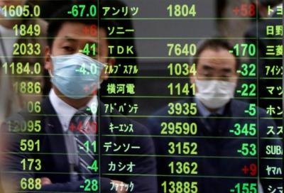 Chứng khoán châu Á tràn ngập sắc xanh, Hang Seng tăng gần 600 điểm